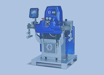 Оборудование для обработки полиуретановых материалов