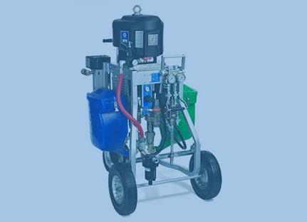 Пневмоприводное оборудование для защитных покрытий
